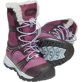 Keen Kids Terradora WP Winter Shoes winetasting/tulip
